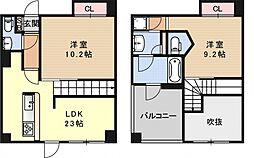GrandE'terna京都[2005号室号室]の間取り
