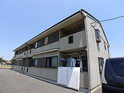 千葉県松戸市平賀の賃貸アパートの外観