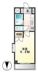 シティライフ春岡[3階]の間取り