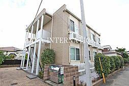 東京都国分寺市西町3丁目の賃貸アパートの外観