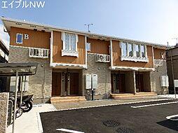三重県多気郡明和町大字佐田の賃貸アパートの外観