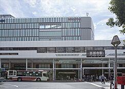 JR総武線「吉祥寺」駅まで約1890m、徒歩約24分です。
