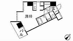 リエス東別院[10階]の間取り