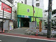 東京都交通局都営地下鉄・浅草線中延駅