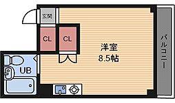 兵庫県尼崎市立花町4丁目の賃貸マンションの間取り