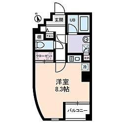 シャローグラス[2階]の間取り
