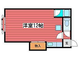 松屋第2ビル[3階]の間取り