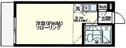 オリエンタル宮崎台[107号室号室]の間取り