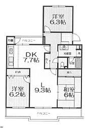 105街区 1号棟 西所沢椿峰ニュータウン