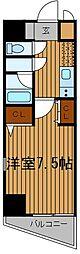 神奈川県川崎市川崎区大島3丁目の賃貸マンションの間取り