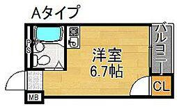 YTマンション[2階]の間取り