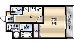 光川テラス[3階]の間取り