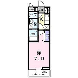 ORION(オリオン)[1階]の間取り