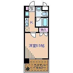 大倉山ヒルテラス[2階]の間取り