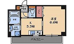 アミル9[3階]の間取り