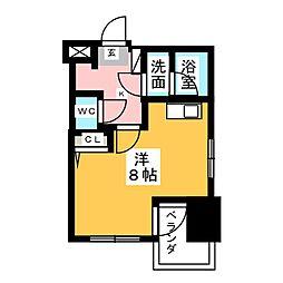 マストスタイル東別院[13階]の間取り