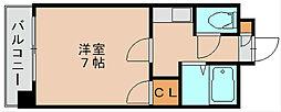 第5マルヤビル[2階]の間取り