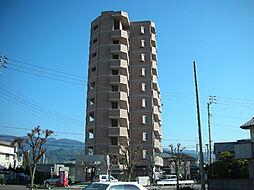 愛媛県東温市野田1丁目の賃貸マンションの外観