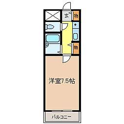 ビラアモーレ[3階]の間取り