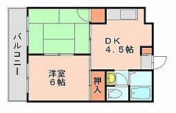 ドリームI[4階]の間取り