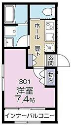 (仮称)多摩区登戸計画[1階]の間取り