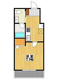シャンポール3[3階]の間取り