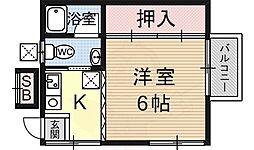 御陵駅 4.4万円