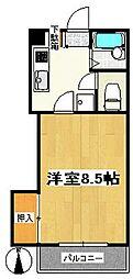 メゾンブランシュ2号館[1階]の間取り