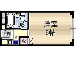 メゾンモアー[2階]の間取り