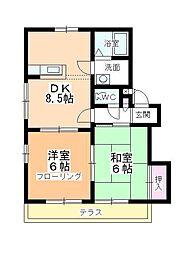 アパートメント294番館[A-102号室]の間取り