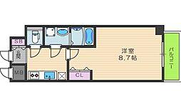 レオンコンフォート桜ノ宮[3階]の間取り