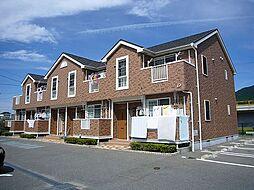 福岡県糟屋郡篠栗町大字篠栗の賃貸アパートの外観