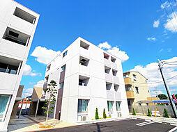 埼玉県狭山市祇園の賃貸マンションの外観