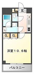 協同レジデンス江坂[203号室号室]の間取り