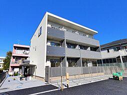 千葉県船橋市薬円台5丁目の賃貸アパートの外観
