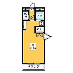 エクセル塩釜III[3階]の間取り