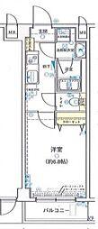 エクセリア氷川台[1階]の間取り