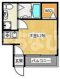 千葉県八千代市八千代台東4丁目の賃貸アパートの間取り