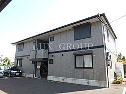 東京都青梅市今井3丁目の賃貸アパートの外観