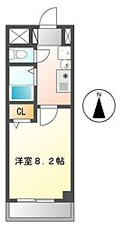 セントラール(St・ラール)[2階]の間取り