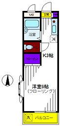 ファミール曙[2階]の間取り