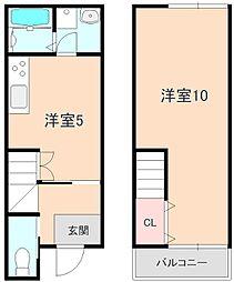 [タウンハウス] 大阪府豊中市刀根山6丁目 の賃貸【/】の間取り