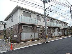 京都府宇治市五ケ庄野添の賃貸アパートの外観