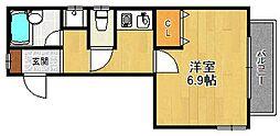 ガーデンズサイド西宮北口[3階]の間取り