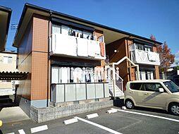 コーポ大富士E[1階]の外観
