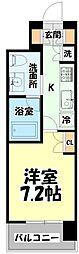仙台市営南北線 北四番丁駅 徒歩10分の賃貸マンション 5階1Kの間取り
