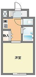 メゾン湘南[1階]の間取り