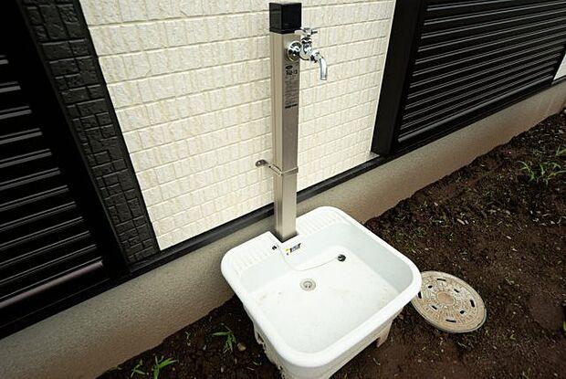 外水栓つき!同社施工物件になります。完成物件と異なる場合がございます。