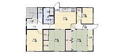 [一戸建] 宮崎県宮崎市月見ヶ丘1丁目 の賃貸【/】の間取り