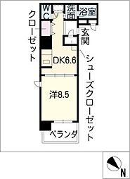 プライムアーバン泉[5階]の間取り
